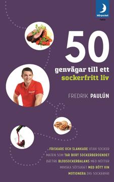Bild på 50 genvägar till ett sockerfritt liv