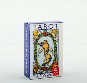 Bild på A.E. Waite Tarot Pocket Blue Edition