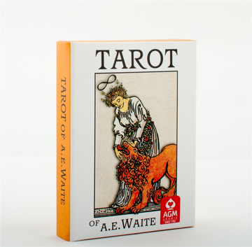 Bild på A.E. Waite Tarot Pocket Premium Edition