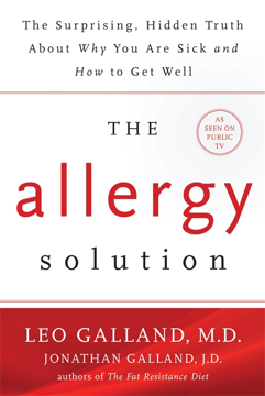 Bild på Allergy solution - unlock the surprising, hidden truth about why you are si