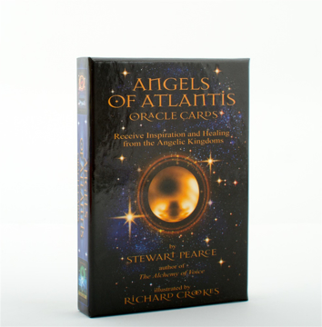 Bild på Angels of Atlantis Oracle Cards : Receive Inspiration and Healing from the Angelic Kingdoms