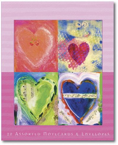 Bild på Art of Manifesting Good Luck Notecards (Love & Relationship)