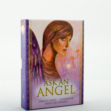Bild på Ask An Angel (42 Oracle Cards, Guidebook, Angel Dictionary)