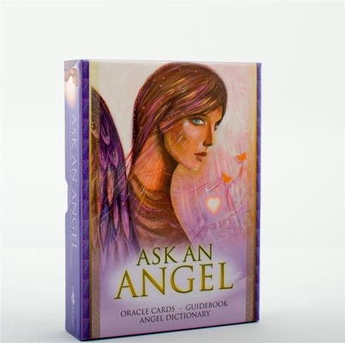 Bild på Ask An Angel (42 Oracle Cards, Guidebook, Angel Dictionary)