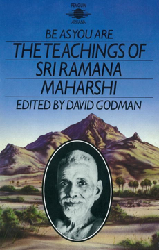 Bild på Be as you are - the teachings of sri ramana maharshi