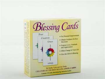 Bild på Blessing Cards: Communicate Your Love, Gratitude And Caring (210 Cards; Comes With Organdy Drawstrin
