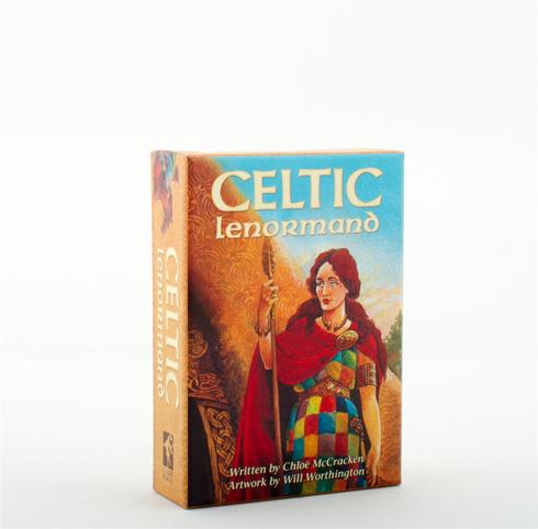 Bild på CELTIC LENORMAND (45-card deck & 188-page guidebook)