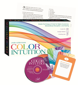 Bild på Color Intuition Kit: Master the Energy of Color for Higher Awareness, Extraordinary Perception, and Healing