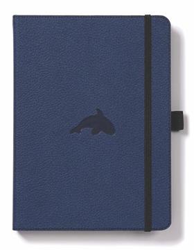 Bild på Dingbats* Wildlife A5+ Blue Whale Notebook - Dotted