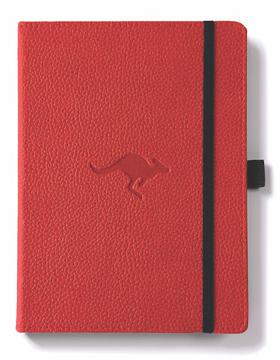 Bild på Dingbats* Wildlife A5+ Red Kangaroo Notebook - Dotted