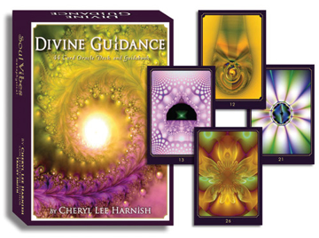 Bild på Divine Guidance Oracle cards (44 gold guilded cards with booklet)