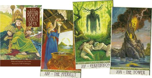 Bild på Druid Craft Tarot Deck : Celebrate the Earth