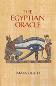 Bild på Egyptian Oracle (Book, 28 Glyph Tiles And Board; Boxed Set)