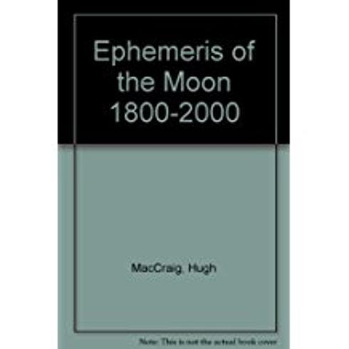 Bild på Ephemeris Of The Moon (Noon)
