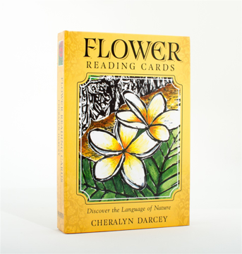Bild på Flower reading cards - discover the language of nature