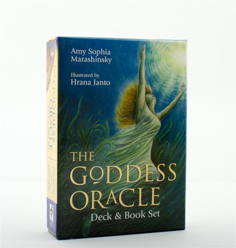 Bild på Goddess Oracle (Book & 52-Card Deck) (New Edition)