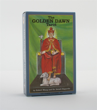 Bild på Golden Dawn Tarot Deck: Based Upon the Esoteric Designs of the Secret Order of the Golden Dawn