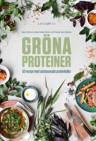 Bild på Gröna proteiner : 50 recept med växtbaserade proteinkällor