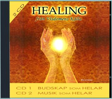 Bild på Healing från visdomens källa : affirmationer och musik