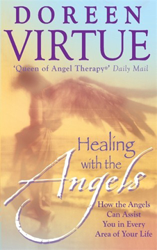 Bild på Healing with the angels - how the angels can assist you in every area of yo