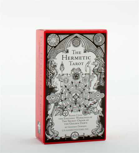 Bild på Hermetic tarot deck