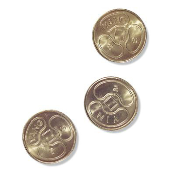 Bild på I Ching Coins (Set Of 3)
