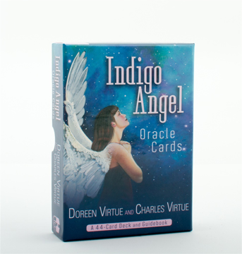 Bild på Indigo Angel Oracle Cards