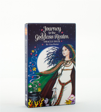 Bild på JOURNEY TO THE GODDESS REALM ORACLE DECK (39-card deck & 48-page guidebook)