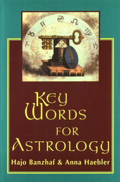 Bild på Key words for astrology