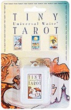 Bild på Keychain, Tiny Tarot (Key Chain + Tiny Universal Waite Tarot