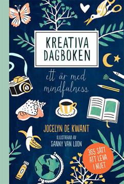 Bild på Kreativa dagboken: ett år med mindfulness