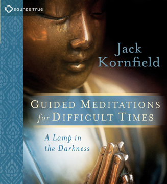 Bild på Lamp in the darkness - guided meditations for difficult times