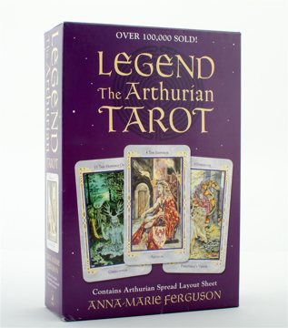 Bild på Legend: The Arthurian Tarot (Book, Deck And Layout Sheet)