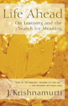 Bild på Life Ahead: On Learning & The Search For Meaning