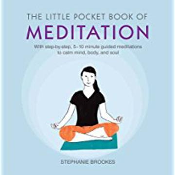 Bild på Little pocket book of meditation - with step-by-step, 5-10 minute guided me