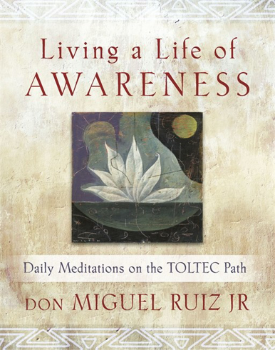 Bild på Living a life of awareness - daily meditations on the toltec path