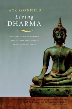 Bild på Living Dharma: Teachings and Meditation Instructions from Twelve Theravada Masters