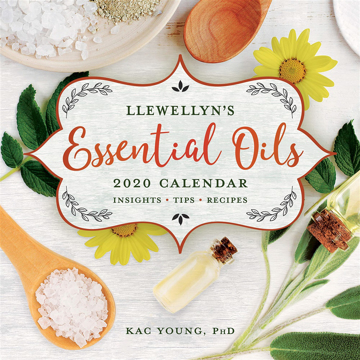 Bild på Llewellyn's 2020 Essential Oils Calendar: Insights, Tips, and Recipes