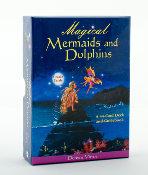 Bild på Magical mermaids/dolphins oracle cards