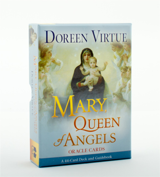 Bild på Mary Queen of Angels Oracle Cards