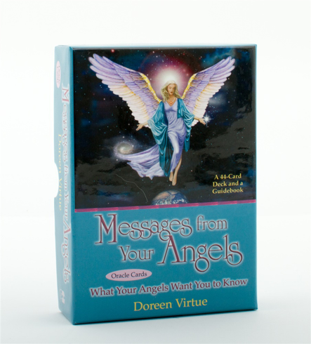 Bild på Messages from your angels oracle cards