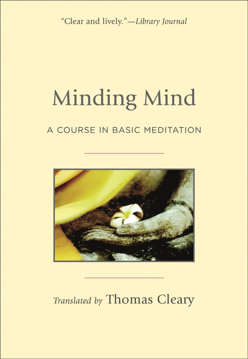 Bild på Minding mind - a course in basic meditation
