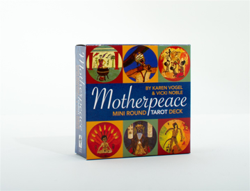"Bild på Motherpeace Tarot Deck (Small) (3"" Diameter)"