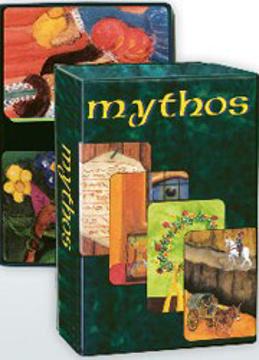 Bild på Mythos : 55 berättande kort - myter och legender
