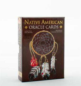 Bild på Native American Spirituality Oracle Cards