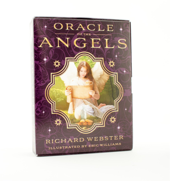 Bild på Oracle of the Angels (40-card deck & 192-page guidebook; boxed)