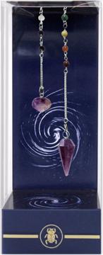 Bild på Premium Amethyst Chakra Pendulum