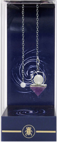 Bild på Premium Amethyst Pyramid Pendulum