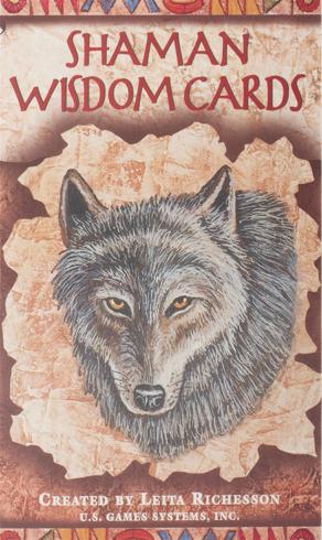 Bild på Shaman Wisdom Cards -- Tarot Cards: 65-Card Deck
