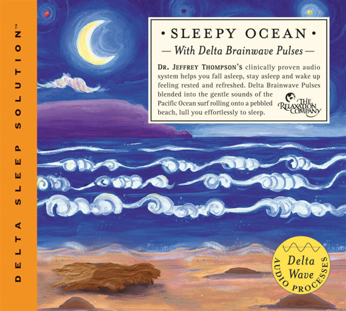 Bild på Sleepy Ocean : With Delta Brainwave Pulses (Cd)